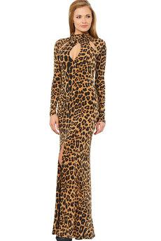 Длинное обтягивающее платье Mondigo