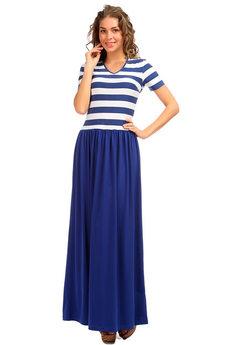 Длинное летнее платье Морячка  Mondigo